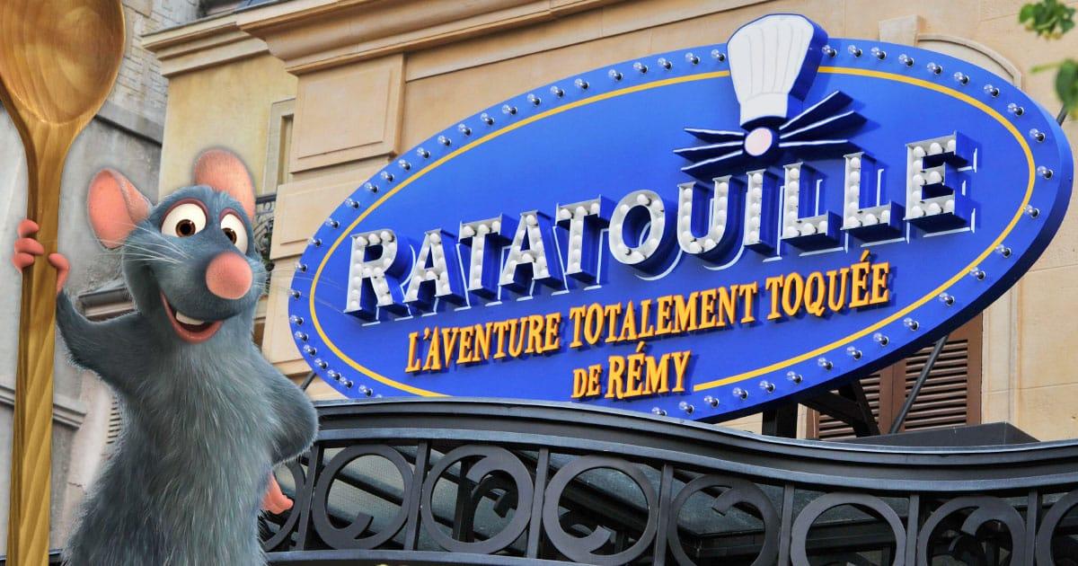 Attraction Ratatouille – DisneyLand Paris