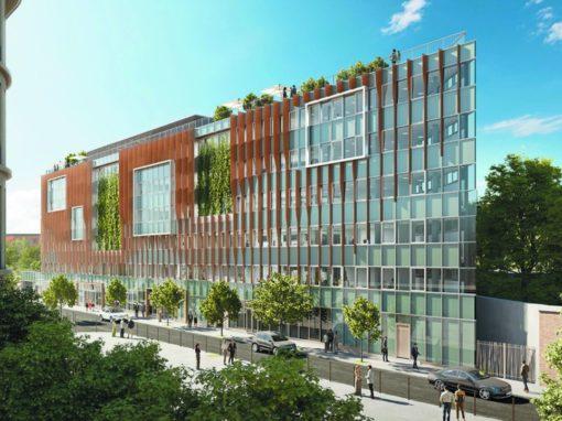 Immeuble B-Square – Nouveau Siège Atelier des Compagnons – Saint Ouen