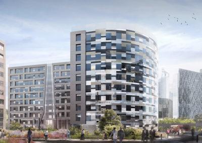 Immeuble de bureaux Akora – Courbevoie